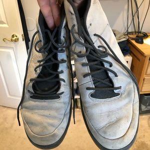 Air Jordan's Gray Sneakers